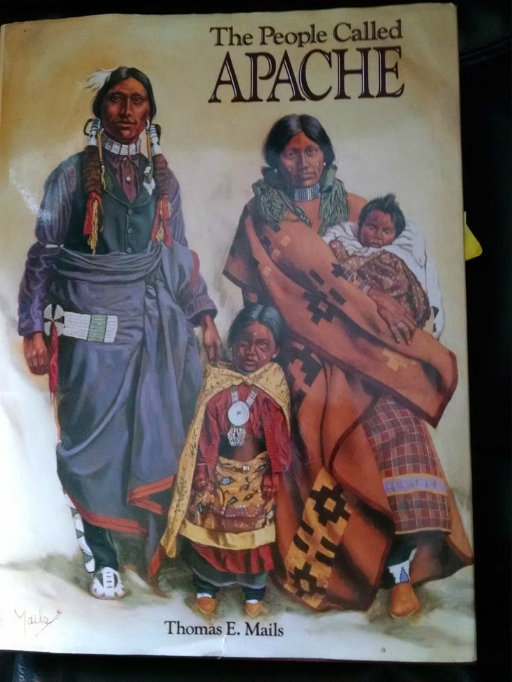 Book: THE PEOPLE CALLED APACHE by Thomas E. Mails