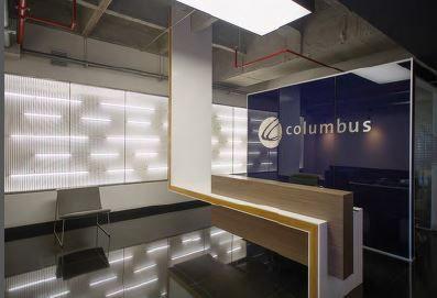 Son varios y significativos los detalles en diseño y adecuación arquitectónica que caracterizan a las oficinas de Columbus.