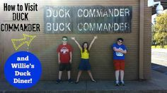How To Visit Duck Commander {and Willie's Duck Diner} - West Monroe, Louisiana