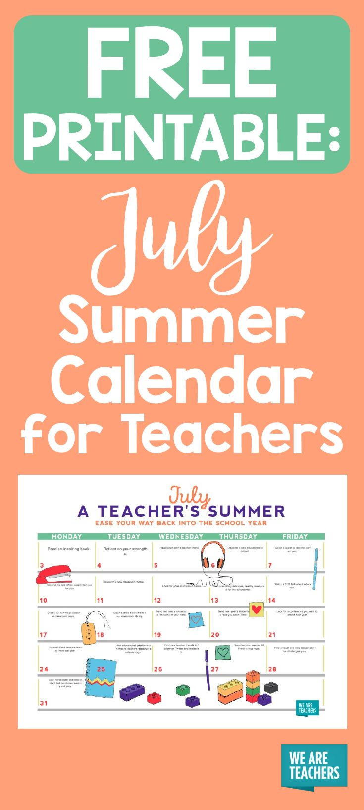 Calendar Printables For Teachers : Best images about what s new on weareteachers pinterest