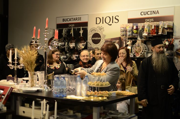 Deschidere DIQIS 27.11.2014, magazin Palas Mall