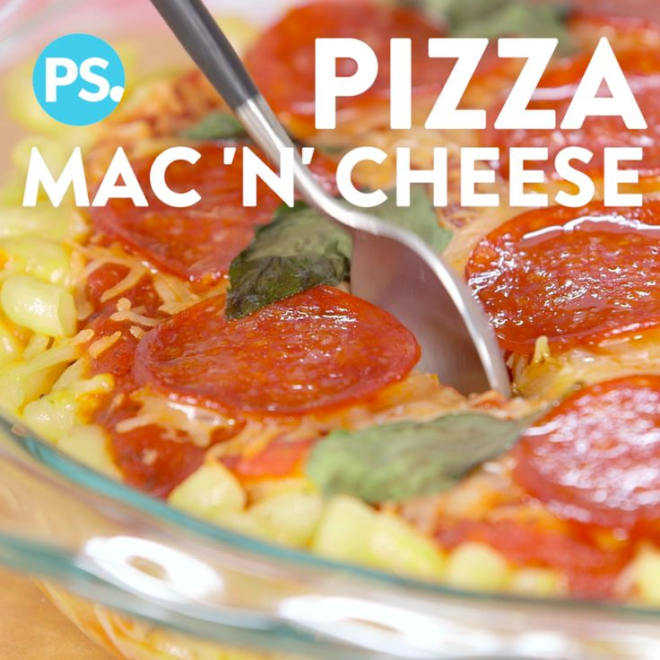 This is a little love story of when two of our favorite comfort foods, pizza and mac and cheese, meet and make magic. It's double the cheese, double the fun, and loaded with flavor! Trust us, this is something you gotta try.