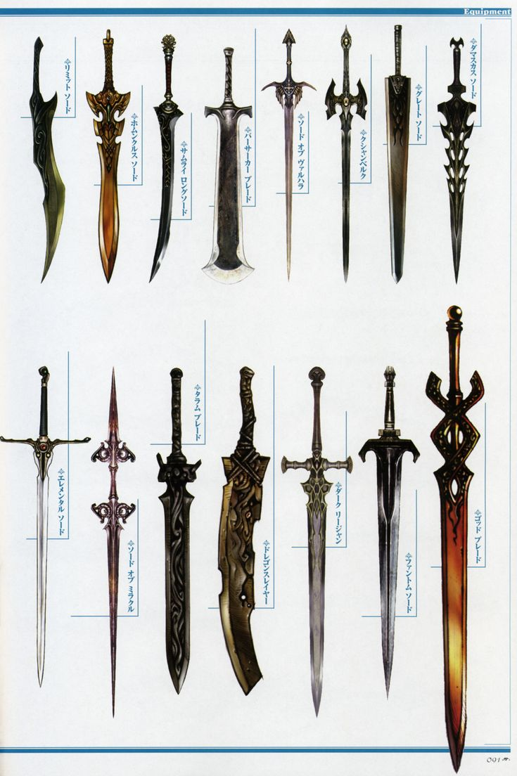 "anatoref: "" Medieval Weapon Concepts """