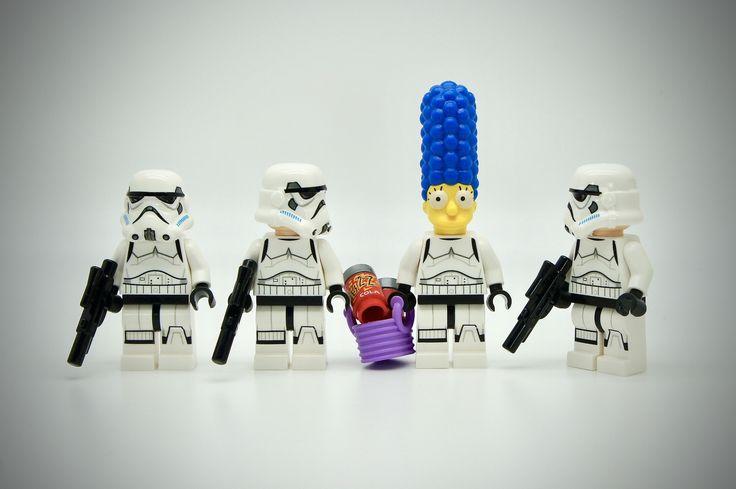https://flic.kr/p/YQJoVJ | LEGO Stormtrooper Marge | Lego Star Wars Stormtroopers Online with Marge Simpson ...