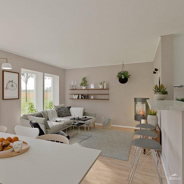 Här kommer några bilder till från Villa Fredriksdal #smålandsvillan #villafredriksdal #skönahem #bygganytt #bonytt #instahome #husdrömmar #inspiration #interiör #vardagsrum #matplats #nybyggnation