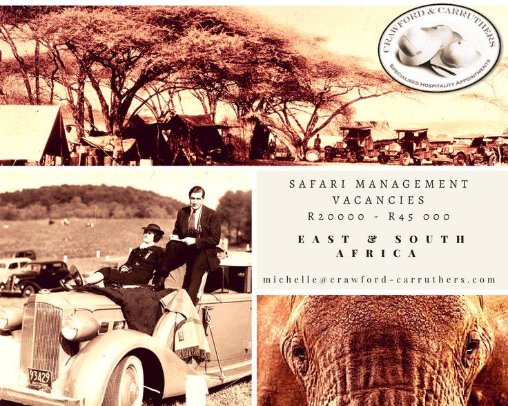 @crawfordandcarruthers #crawfordcarruthers #safarijobs #safarigm
