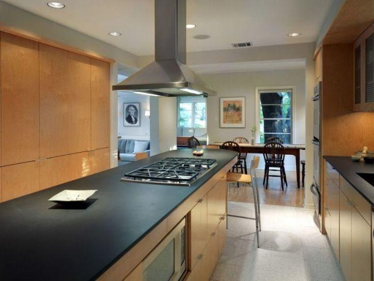 les 25 meilleures id es concernant cuisine en granit noir sur pinterest comptoirs de cuisine. Black Bedroom Furniture Sets. Home Design Ideas