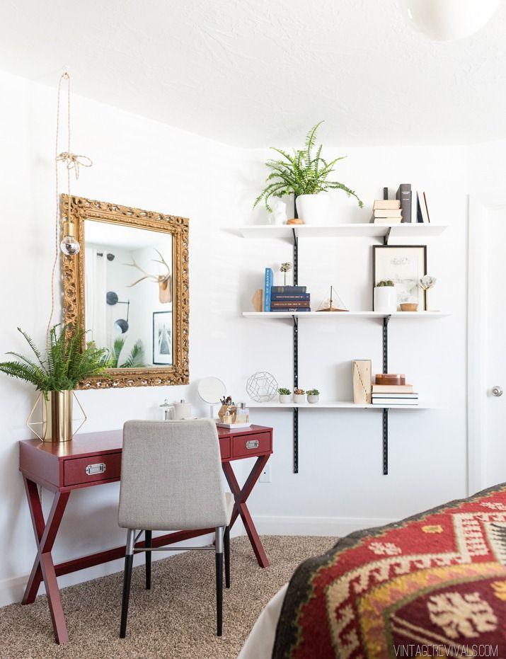 Bland Bedroom Turned Scandi Sanctuary Makeover REVEAL!