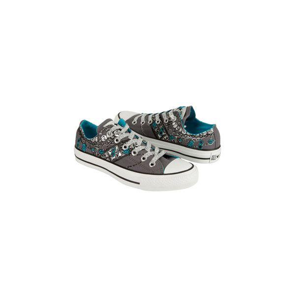 CONVERSE Chuck Taylor Chain Womens Shoes ($55) found on Polyvore featuring shoes, sneakers, converse, sapato, zapatos, chain shoes, converse sneakers, converse shoes, converse footwear and converse trainers