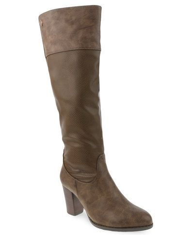 Bronx Women Ophelia Boots Brown size 6