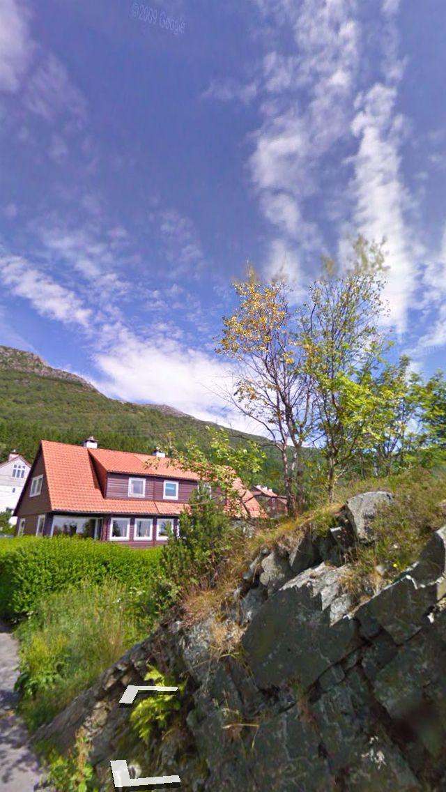 Latitude: 60.371491 (60° 22' 17.37'' N) Longitude: 5.366396 (5° 21' 59.03'' E)  #Bergen #Norway #StreetView #Travel #Landscape