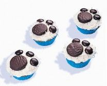 Pootafdruk Cupcake