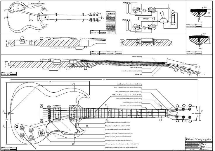 Projeto Das Guitarras Explorer Lespaul Strato E Tele Pdf R 12 99 Gibson Sg Construcao De Guitarra Projeto De Guitarra