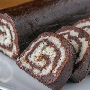 """Вкуснейшая шоколадная колбаса """"Баунти"""" без выпечки. Нежнейшее кокосовое наслаждение"""