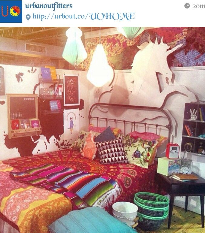 Indie Bedrooms   Pinning Because Unicorn! Part 78