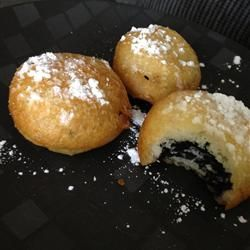 Deep Fried Oreos - If you are going to splurge you might as well have some fun with it and what would be more fun than deep fried Oreos)