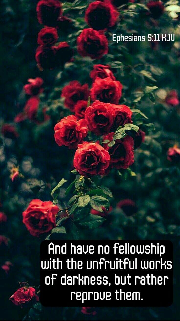 Islamic Quotes Wallpapers Iphone Ephesians 5 11 Kjv Kjv Scripture Tlc Creations