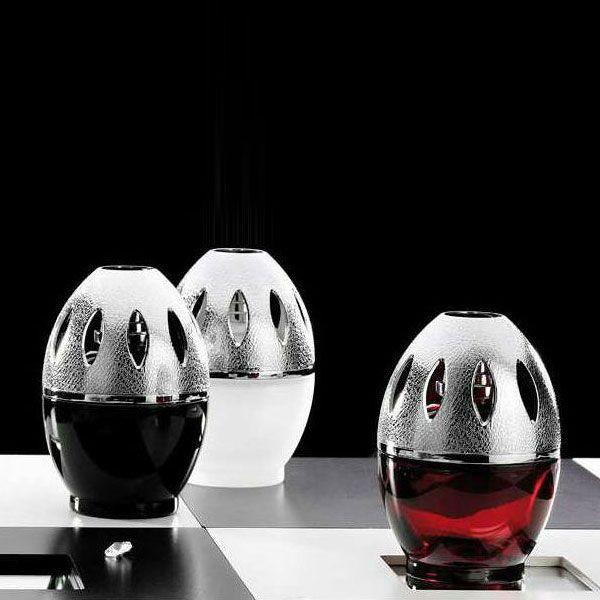 Lampe Berger – katalytická lampa Egg, červená