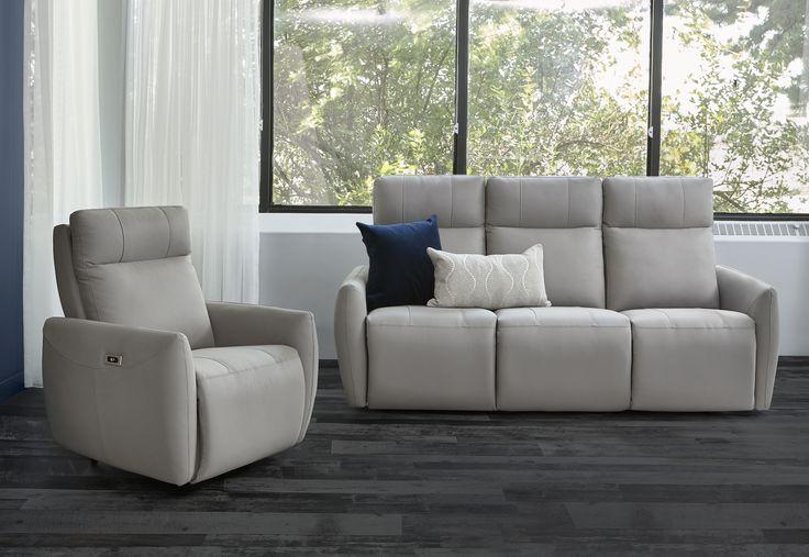 Canap 233 Fauteuil Sofa Inclinable Elran Choix De Couleurs Cuir Tissu Custom