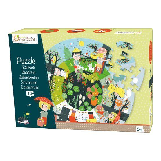 Puzzle - roční období - 40 ks