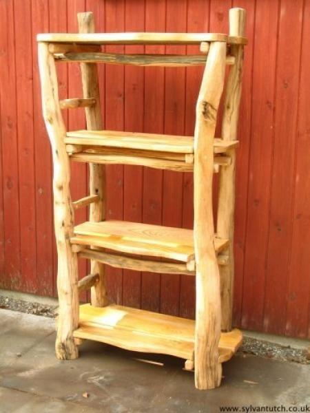 Handmade Rustic U0026 Log Furniture. Bookshelf If My Dad Ever Made Me One It  Would Be Like This !