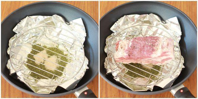 食通のためのグルメメディアdressing「dressing編集部」の記事「フライパンと茶葉で作る「燻製グルメ」が想像を超えるウマさ!自家製ベーコンの作り方と簡単アレンジレシピ」です。