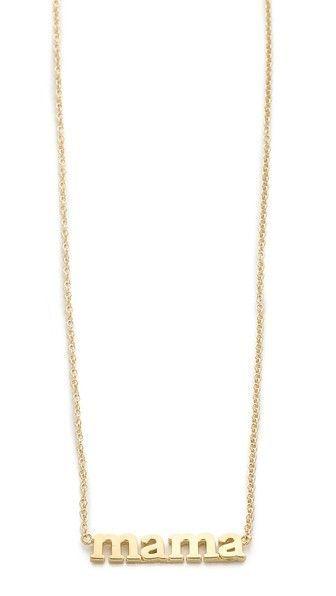 Jennifer Meyer Jewelry Mama Necklace