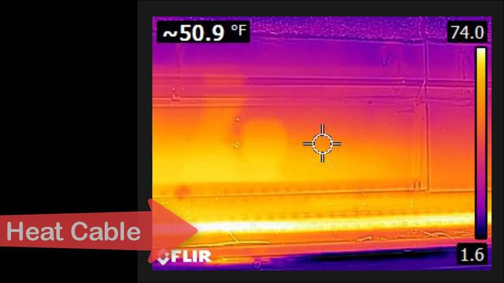 Roof Ice Dam Prevention System - Performance Results EP-SC with OGG heat...