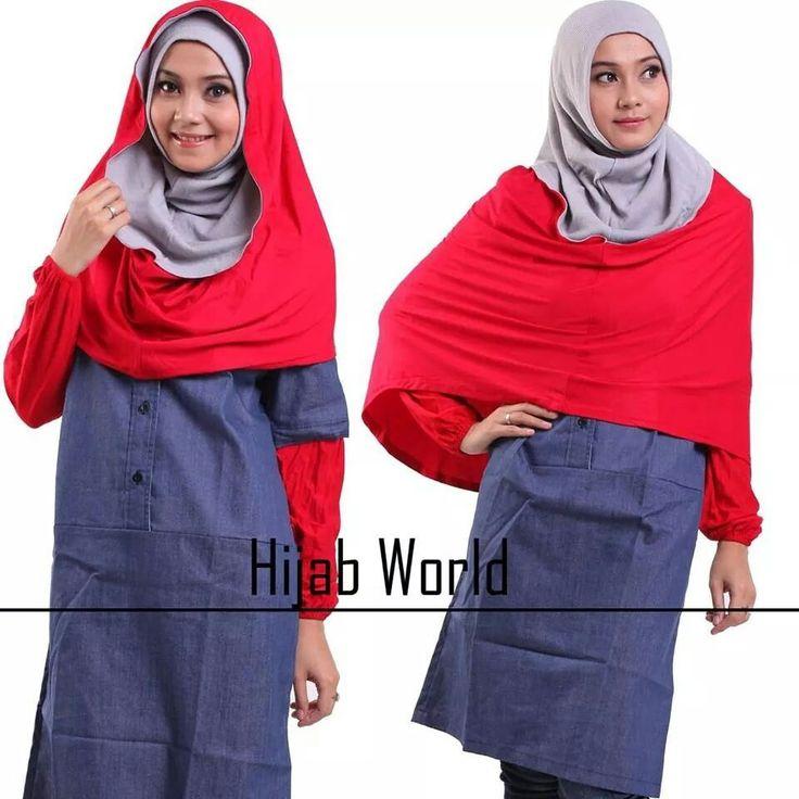 Jilbab hoodie cordoroy, warna abu2 merah, harga 115rb, sms/wa 0857.9092.9515
