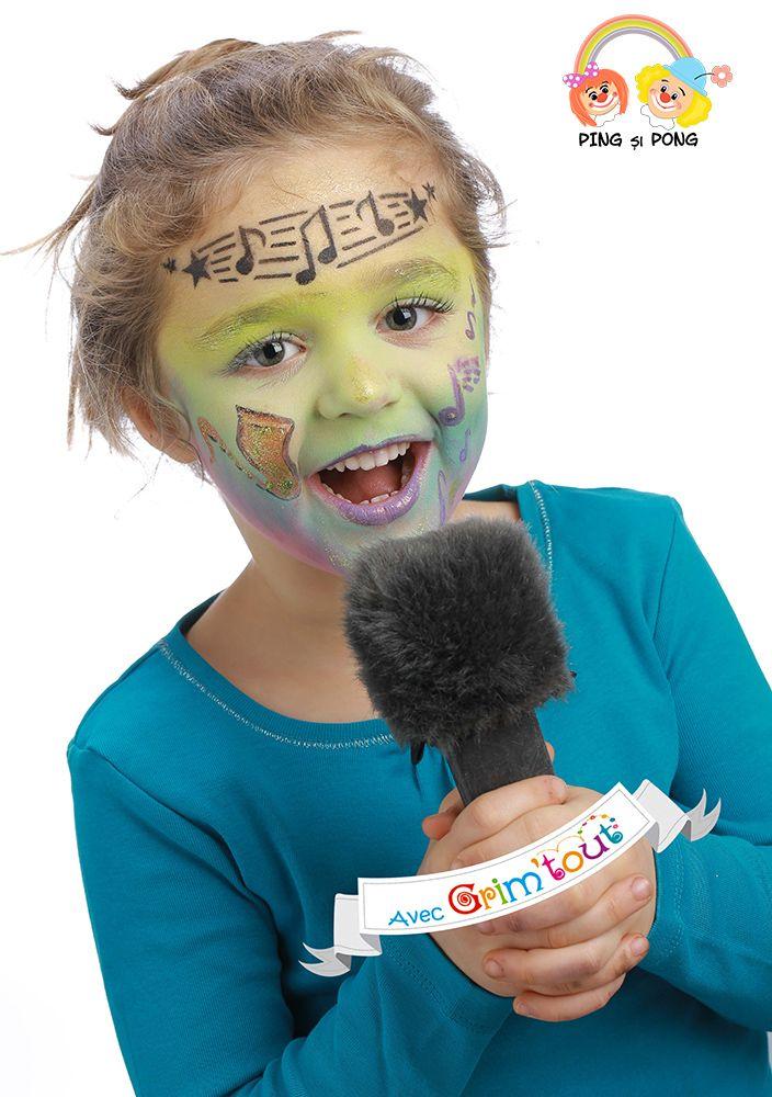 Produse-Pictura-pe-fata-petreceri-copii-MUZICA