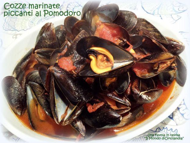 Fantastiche #Cozze alla Marinara con #peperoncino e #pomodoro