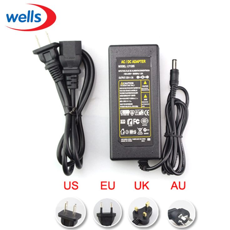 LED Power Supply 5 V 12 V 24 V 2A 3A 5A 7A 8A 10A Untuk 5 V 12 V 24 V led jalur cahaya