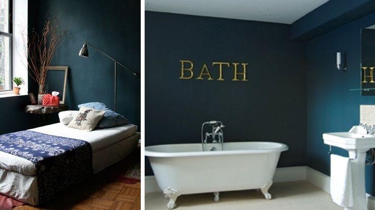 Mur turquoise fonc bing images couleur pour chambre for Couleur bleu turquoise fonce