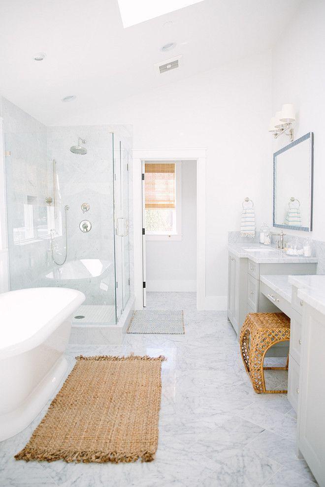 Best 25 White master bathroom ideas on Pinterest  Master