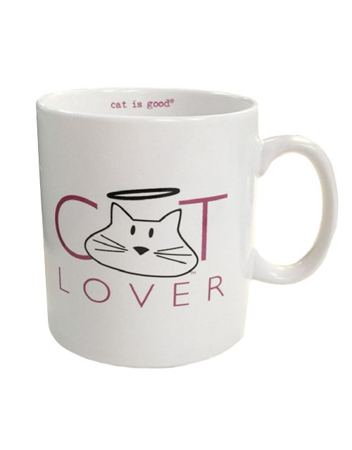 Mug: Cat Lover (white) #catlovers http://www.planetgoldilocks.com/gifts.htm #gifts #dogs  #doggood at #planetgoldilocks #shopping roduct Description  This is a must have for you and your fellow cat lovers! The Cat Lover mug features:  •Classic C-handle design •14oz capacity •Dishwasher safe #petlover #planetgoldilocks