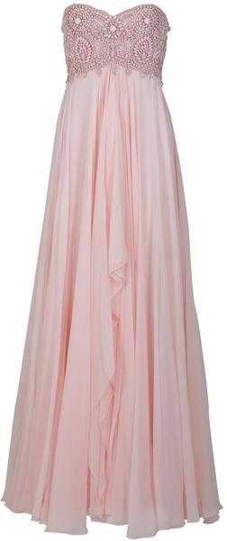 Marchesa Empire Silk Chiffon Wedding Gown in Pink