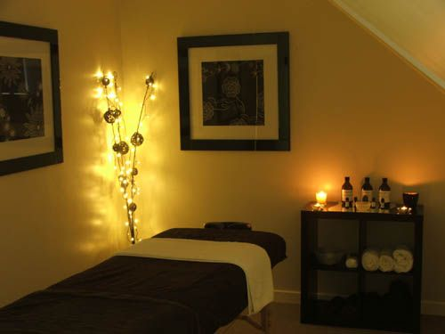 Attractive Day Spa || Massage Therapy Room || Esthetician Room || Aesthetician Room |  · Spa Room DecorMassage ... Part 10