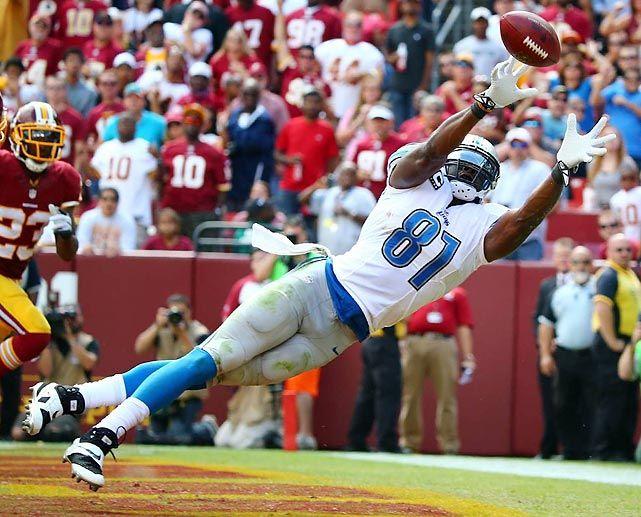 Calvin Johnson, Detroit Lions