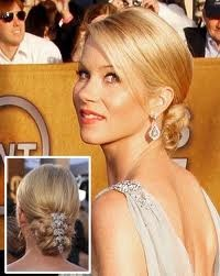 simple cute updo: Hairstyles, Hair Styles, Wedding Ideas, Makeup, Wedding Hairs, Updo, Low Buns