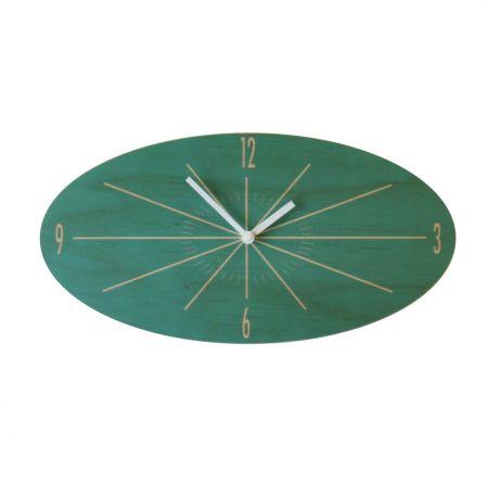 Objectify oval classic wall clock - hardtofind.
