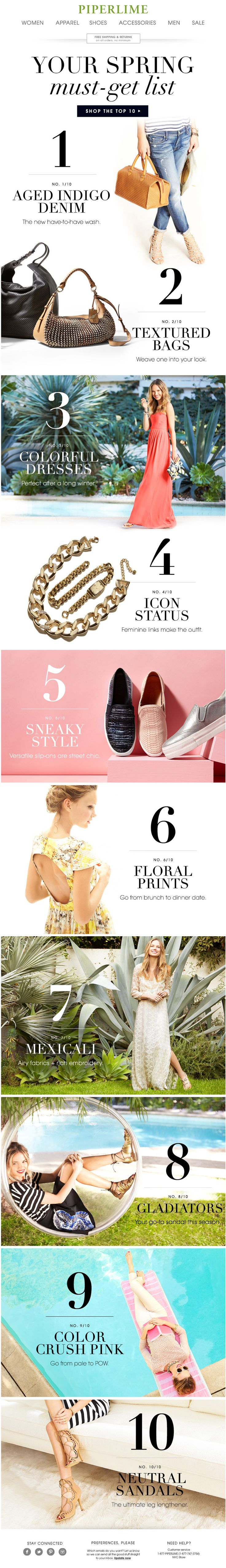 THE top 10 spring trends you don't want to miss | Awesome Screenshot
