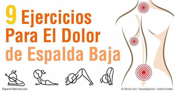 A pesar de que el dolor de espalda es desafiante y podría ser debilitante, tiene opciones tanto de tratamiento como de prevención, como ejercicio y estiramientos. http://ejercicios.mercola.com/sitios/ejercicios/archivo/2016/07/01/ejercicios-para-el-dolor-de-espalda.aspx