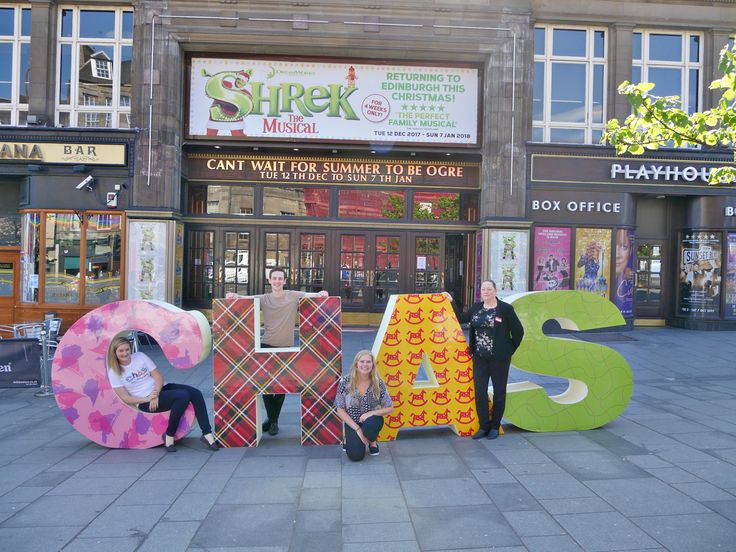 Latest news Theatre's Support for Scottish Charity is a Smash Hit