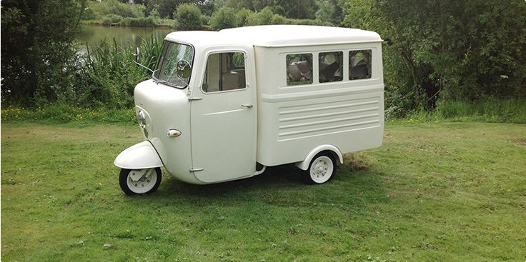 "Custom-Built camper built on 1960 Lambretta ""Lambro"" flatbed. Featured on George Clarke's Amazing Spaces"
