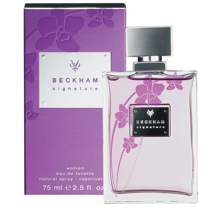 David Beckham Signature Women Eau de Toilette 75ml Spray