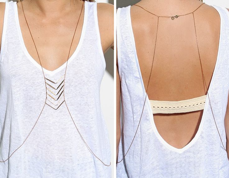 Black And White And Loved All Over: Body Jewelry Goes Boho. I Suddenly Love It.