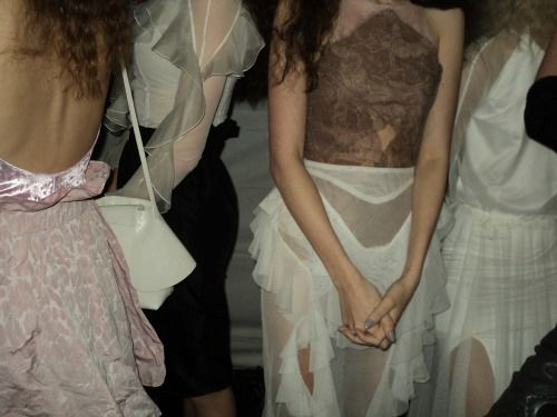 Nora Sarman Backstage