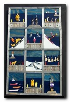 """Ben's Studio """"Quilt of Newfoundland"""" by Ben Ploughman"""