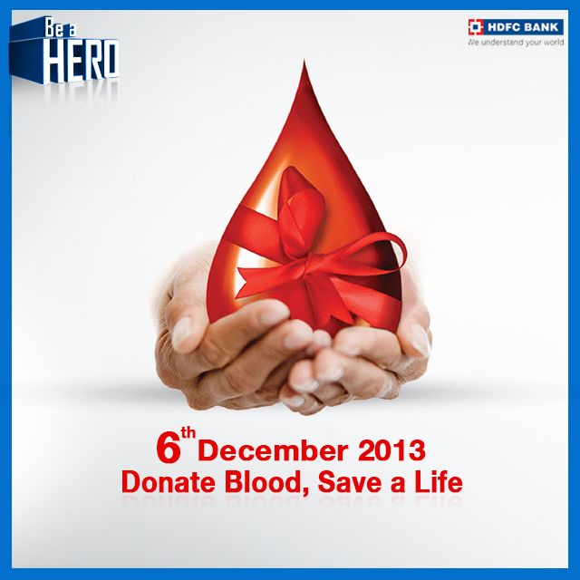 Just 1 days left to pledge your support & #BeAHero.! Donate Blood & Save a Life this 6th December.