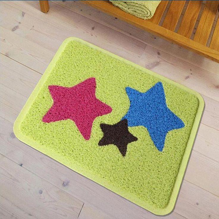 Find More Bath Mats Information about PVC Anti slip Floor Mat PVC Silk Rug Stars Printed & 12 best Bath Anti-slip Floor Mat images on Pinterest | Household ...